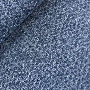 Jeans - Wellen-Muster - blau