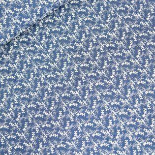 Jeans - Blumen-Stickerei