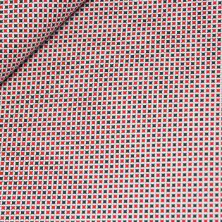 Baumwolle - Weihnachten - Rautensterne