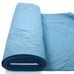 Softshell - melange - blau