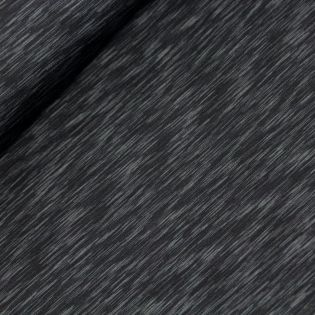 Sportjersey - Streifen - schwarz-grau