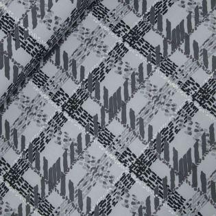 Softshell - Netz - grau-schwarz