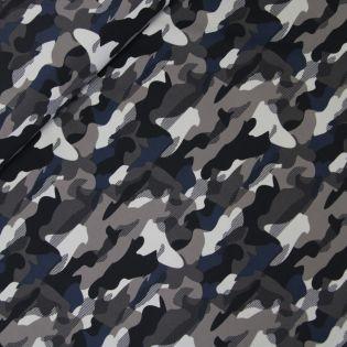 Badeanzugstoff - Camouflage