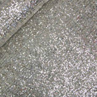 Pailletten - Burda style - silber