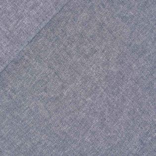 Leinen-Baumwolle - Chambray - blau