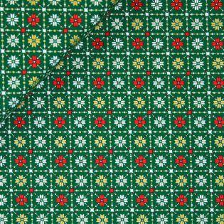 Baumwolle - Weihnachten - Weihnachtsrauten