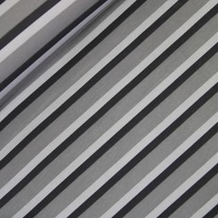 Sweatshirt - Streifen - grau