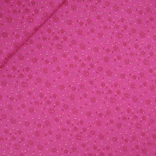 Popeline - Laub im Wind - pink