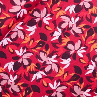 Alpenfleece - Blüten - rot