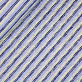 Sweatshirt - Streifen - blau-gelb