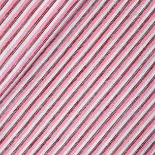 Sweatshirt - Streifen - rosa-rot