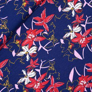 Viskosejersey - Lady Flowers