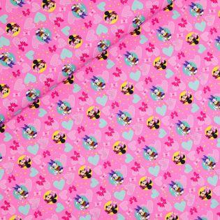 Baumwolle - Minnie Mouse und Daisy