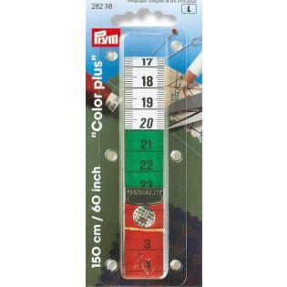 Maßband - cm- und inch Skala mit Druckknopf