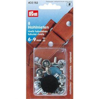 Prym - Hohlnieten für Materialstärke 6-9 mm