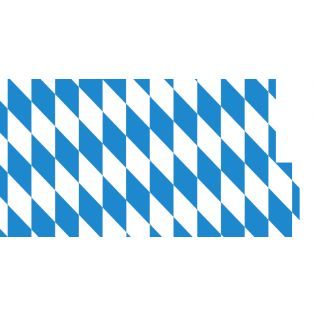 Wachstuch - Bayernraute