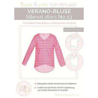 Schnittmuster - Lillesol & Pelle - Stars No. 13 - Verano-Bluse