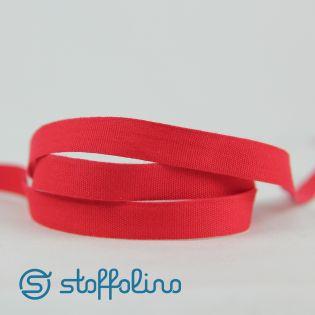 Ripsband - uni - knallrot