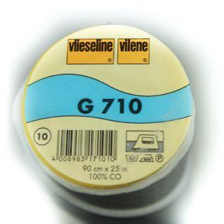 G710 - aufbügelbare Gewebeeinlage - weiß