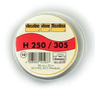 H250 - Bügeleinlage - weiß