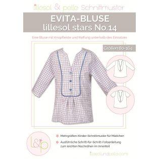Schnittmuster - Lillesol & Pelle - Stars No. 14 - Evita-Bluse