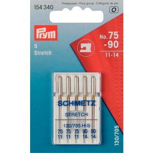 Prym - Nähmaschinennadeln - Stretch-Mischung - 75-90
