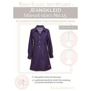 Schnittmuster - Lillesol & Pelle - Stars No. 15 - Jeanskleid