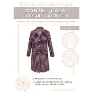 Schnittmuster - Lillesol & Pelle - Stars No. 16 - Mantel Capa