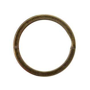Schlüsselring - 25 mm - bronze