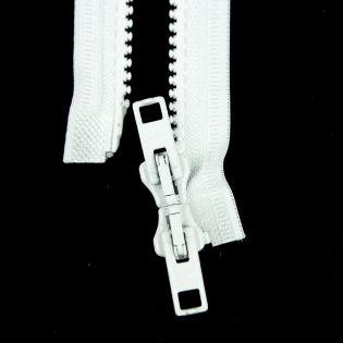 Reißverschluss Opti - P60 - 40cm - Werraschieber - Zweiwege - teilbar - weiß