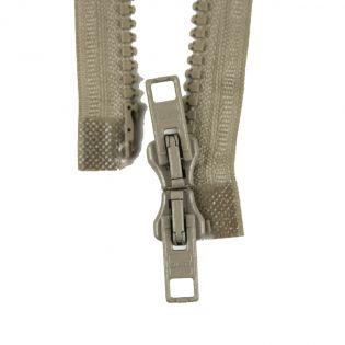 Reißverschluss Opti - P60 - 35cm - Werraschieber - Zweiwege - teilbar - beige