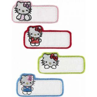 Applikation - Hello Kitty - Namensetikett