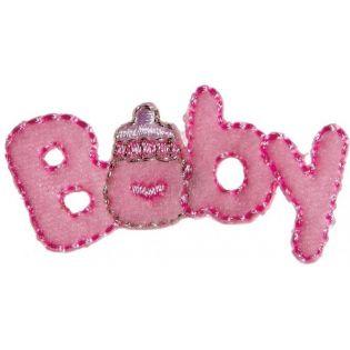 Applikation - Baby - rose