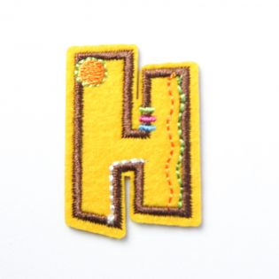 Applikation - Fun Letters - Buchstabe H