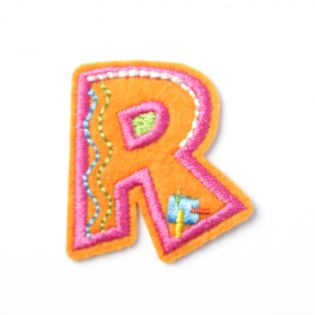 Applikation - Fun Letters - Buchstabe R