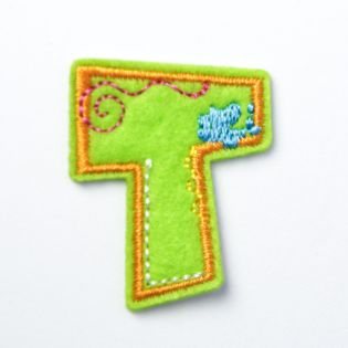 Applikation - Fun Letters - Buchstabe T
