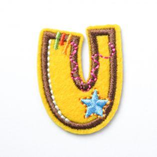 Applikation - Fun Letters - Buchstabe U