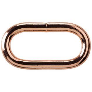 Ovalring - 30 mm - kupfer