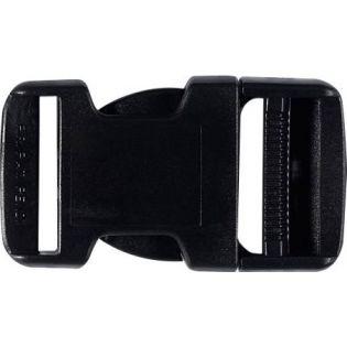Steckschnalle - Kunststoff - 30 mm - schwarz