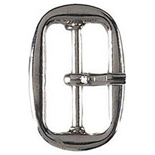 Gürtelschnalle - Metall - 25 mm - silber
