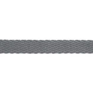 Hoodieband - 15 mm - grau