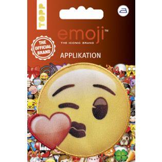 Applikation - Emoji - Kuss mit Herz