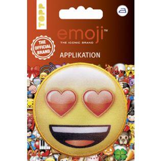 Applikation - Emoji - Herzaugen