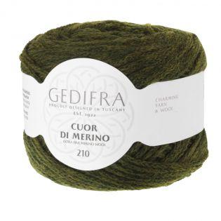Gedifra - Cuor di Merino 210 - jägergrün