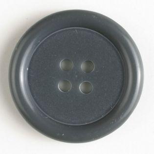4-Loch-Knopf - 15 mm - grau