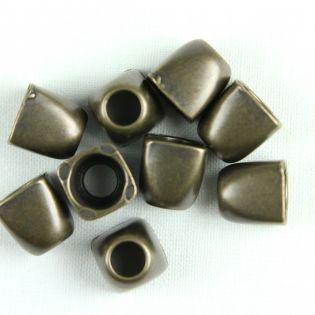 Kordelstopper - 12 mm - bronze