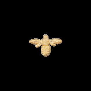 Öse - metallisiert - Fliege - 20 mm - gold