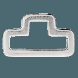 D-Ring - 40 mm - Metall - silber