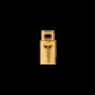 Kordelstopper -18 mm - gold