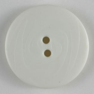 2-Loch-Knopf - Wirbelwind - 23 mm - weiß